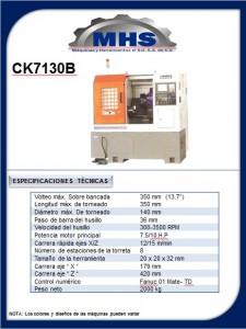 Torno CNC CK7130B
