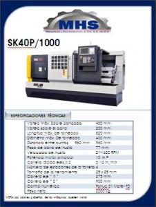 Totno CNC SK40P-1000