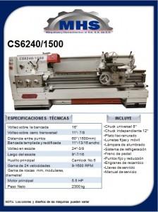 Torno Paralelo CS6240/1500