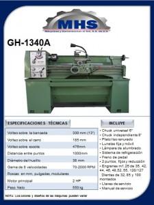 Torno Paralelo GH-1340A
