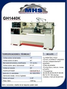 Torno Paralelo GH1440K