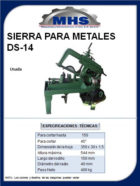 SIERRA CINTA DS14