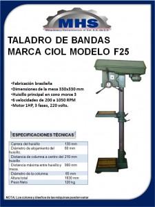 TALADRO CIOL F25